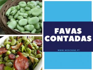 1 de 10 expressões portuguesas: favas contadas