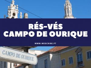 1 de 10 expressões portuguesas: rés-vés campo de ourique